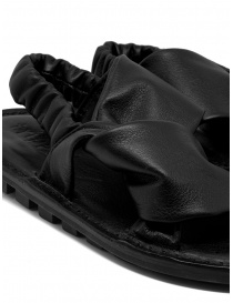 Trippen Embrace F black crossed sandals womens shoes price