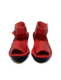 Trippen Scale F red leather sandals price