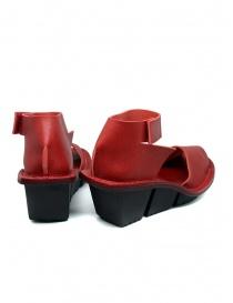 Trippen Scale F sandali rossi in pelle calzature donna acquista online