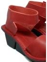 Trippen Scale F sandali rossi in pelle prezzo SCALE F WAW REDshop online