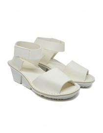 Calzature donna online: Trippen Scale F sandali bianchi in pelle