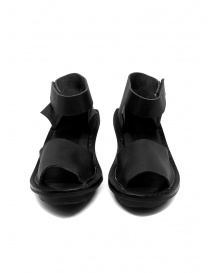Trippen Scale F black leather sandals price