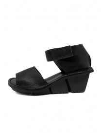 Trippen Scale F black leather sandals