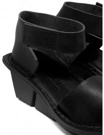 Trippen Scale F sandali neri in pelle calzature donna prezzo