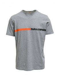 Parajumpers T-shirt Urban Steel grigio melange online