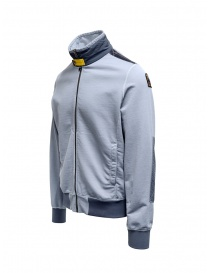 Parajumpers Nathan blue sweatshirt with zip buy online