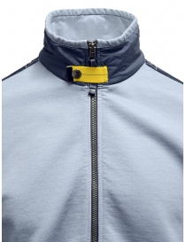 Parajumpers Nathan blue sweatshirt with zip mens knitwear buy online