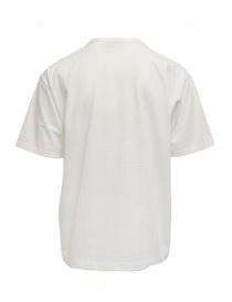Kolor t-shirt bianca con scritte verticali nere acquista online