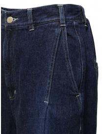 Zucca jeans a palazzo con frange sul fondo jeans donna acquista online