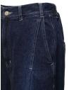 Zucca jeans a palazzo con frange sul fondo ZU07FF201-13 NAVY acquista online