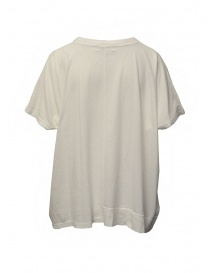 Zucca ivory white blouse with embroidered insert