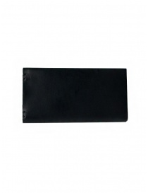 Feit long wallet in black leather online