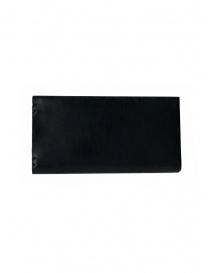 Feit portafoglio lungo in pelle nera online