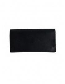 Feit portafoglio lungo in pelle nera prezzo