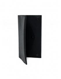 Feit long wallet in black leather wallets buy online