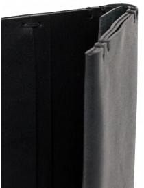 Feit long wallet in black leather buy online