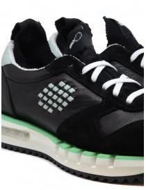 BePositive Cyber Run sneakers nere e verde acqua calzature uomo acquista online