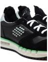 BePositive Cyber Run black and green sneakers CYBER PLUS S0CYBER02/LEA BLK buy online