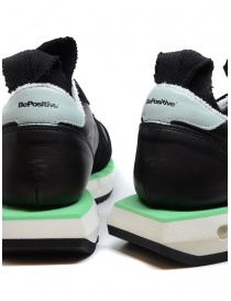 BePositive Cyber ​​Run black and green sneakers mens shoes price