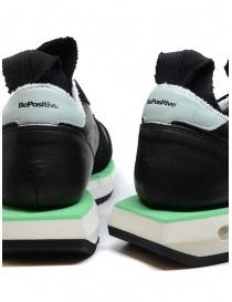 BePositive Cyber Run sneakers nere e verde acqua calzature uomo prezzo