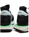 BePositive Cyber Run sneakers nere e verde acqua prezzo CYBER PLUS S0CYBER02/LEA BLKshop online