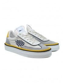 Mens shoes online: BePositive Roxy yellow, blu, white sneakers