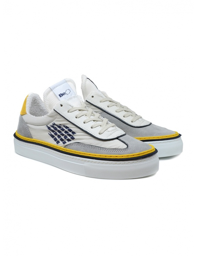 BePositive Roxy yellow, blu, white sneakers ROXY 02 S0ARIA22/NYL GRY mens shoes online shopping
