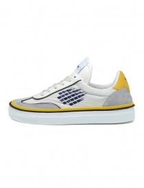 BePositive Roxy sneakers giallo, blu e bianco