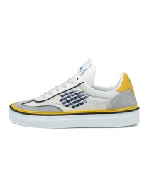 BePositive Roxy yellow, blu, white sneakers