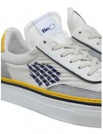 BePositive Roxy yellow, blu, white sneakers mens shoes buy online