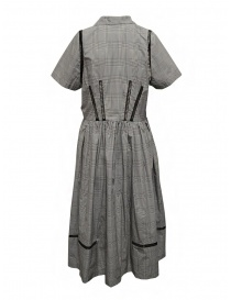 Miyao Prince of Wales check dress in gray price