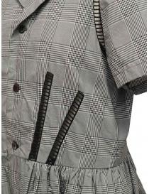 Miyao abito a quadri principe di Galles grigio abiti donna acquista online