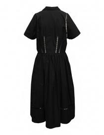 Miyao abito lungo nero con dettagli in pizzo prezzo