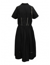 Miyao long black dress with lace details price