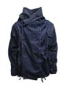 Kapital cappotto ad anello in denim blu scuro acquista online EK-753 IDG