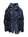 Kapital cappotto ad anello in denim blu scuroshop online giacche donna