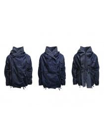 Kapital ring coat in dark blue denim buy online price