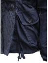 Kapital cappotto ad anello in denim blu scuro prezzo EK-753 IDGshop online