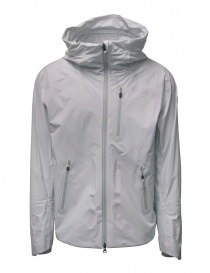 Mens suit jackets online: Descente StreamLine white shell jacket