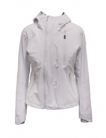 Womens jackets online: Descente gray short windbreaker