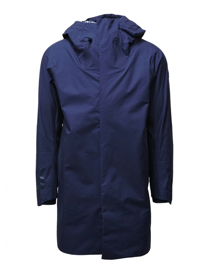 Descente StreamLine navy blue waterproof coat DIA3601U PNVY mens coats online shopping