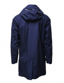 Descente StreamLine navy blue waterproof coat mens coats buy online