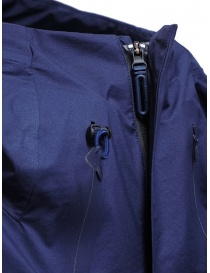 Descente StreamLine navy blue waterproof coat