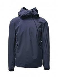 Giubbini uomo online: Descente Para-Hem giacca a vento grigio medio