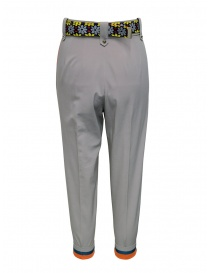 Kolor beige pants with colored belt price