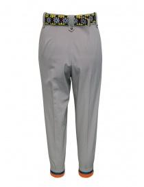 Kolor pantaloni beige con cintura colorata prezzo