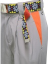 Kolor beige pants with colored belt 20SCL-P03120 BEIGE buy online