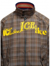 Kolor brown checked bomber jacket mens jackets buy online