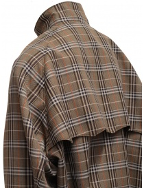 Kolor brown checked bomber jacket buy online price