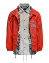 Kolor red jacket with floral print buy online 20SCM-G05112 RED